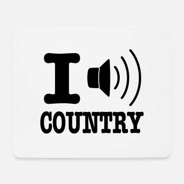 Country I music country / I love country - Musemåtte
