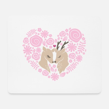 Love Collection V2 Deer love - Mouse Pad