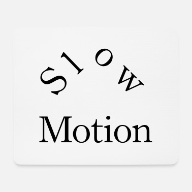 Motion slow motion - Mousepad (bredformat)
