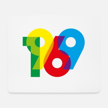 Place Of Birth 1969 - year of birth - Mouse Pad
