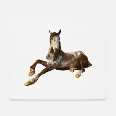 Sit Horse sitting - Mouse Pad