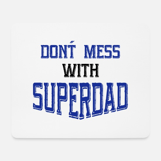 Dad Mouse Pads - father - Mouse Pad white