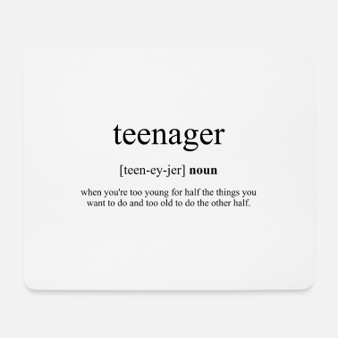 Teenager Teenager (teenager) - Mouse Pad