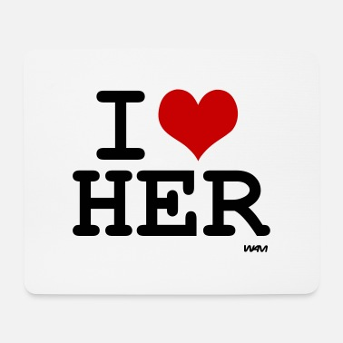 Herring her - Mouse Pad