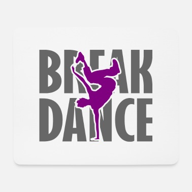Breakdance Breakdance Breakdancer Breakdance Streetdance - Tappetino per mouse (orizzontale)