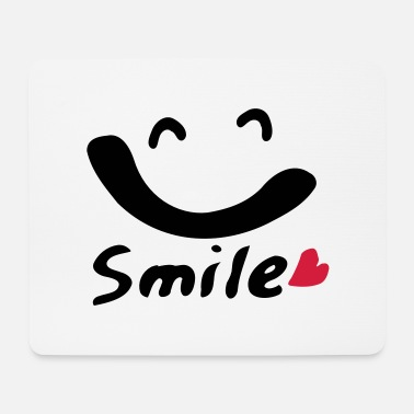 Big Smile smile txt big smile face - Mouse Pad