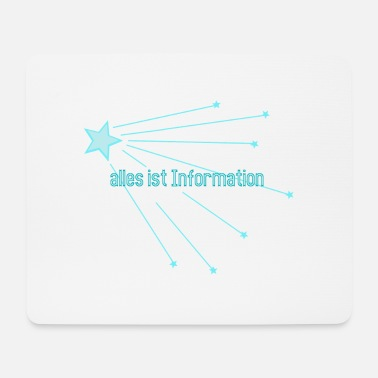 Information Alles ist Information - Mousepad