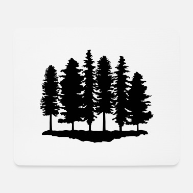 Tree Forest, Trees, Tree - Mouse Pad