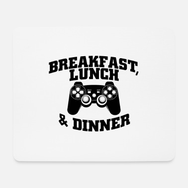 Lunch Breakfast, lunch and dinner - Mouse Pad