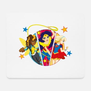 Supergirl DC Super Hero Girls Batgirl Wonder Woman Supergirl - Mousepad