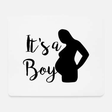 Babyshower Babyparty Babyshower Baby pregnant schwanger - Mousepad