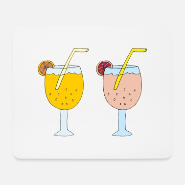 cocktails 2s - Mouse Pad