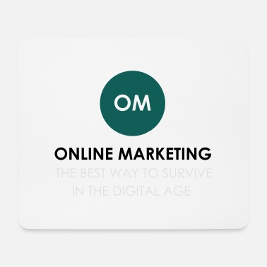 Online Marketing online - Tappetino per mouse (orizzontale)