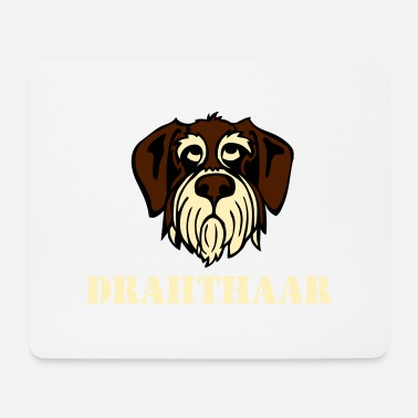 Gwp drahthaar_face_3c - Mouse Pad