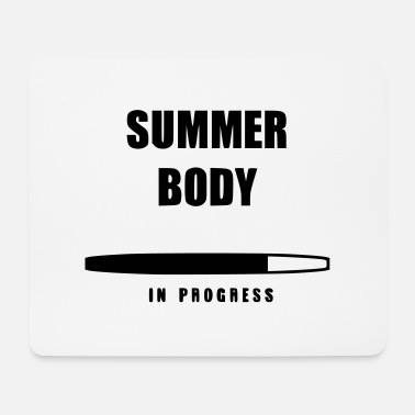 Summer Body in Progress - Mouse Pad