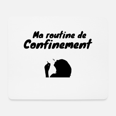 Coronavirus Containment humor gift - Mouse Pad