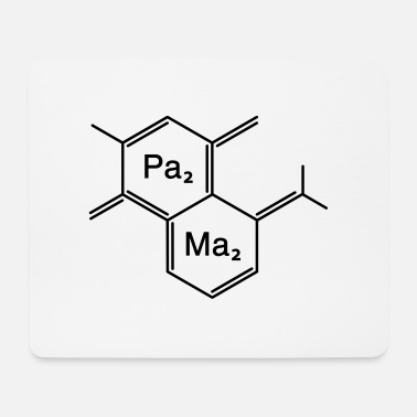 Family Junior Daughter Mom Father chemical papa + mama - Mouse Pad