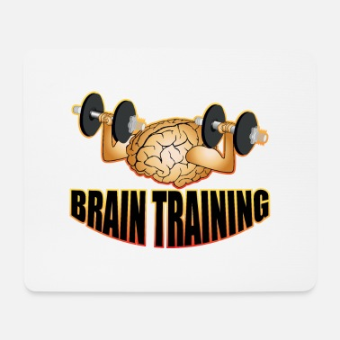 Training Brain Training - Tappetino per mouse (orizzontale)