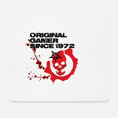 Since Original Gamer Since 1972 - Tappetino per mouse (orizzontale)
