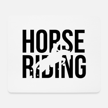 Horse Riding Horse Riding - Mouse Pad