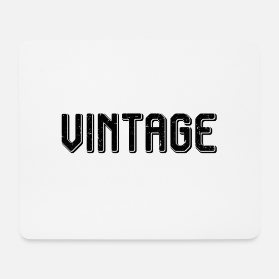 Freestyle Mousepads  - Vintage - Mousepad Weiß