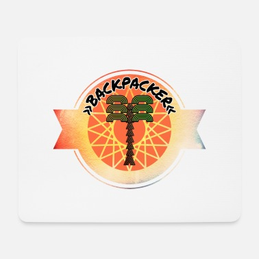Backpack Backpacker - Mouse Pad
