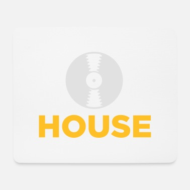 House Musica house! - Tappetino per mouse (orizzontale)