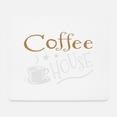 House Coffee House - Tappetino per mouse (orizzontale)