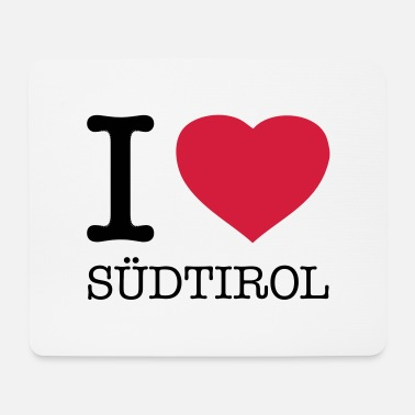 I Heart I LOVE SÜDTIROL - Tapis de souris