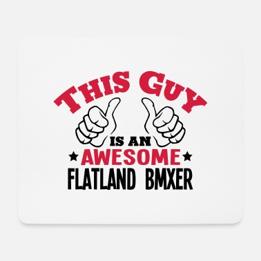 Wheel this guy is an awesome flatland bmxer 2c - Mouse Pad