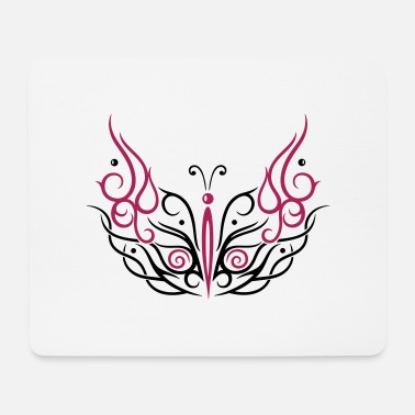 Filigree Big filigree butterfly - Mouse Pad
