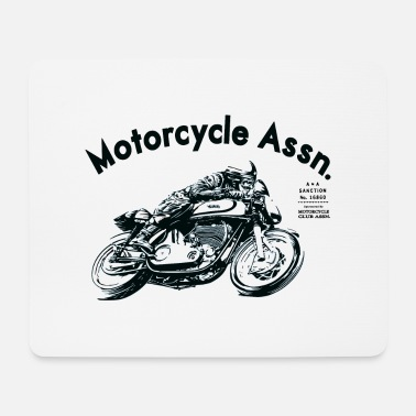 Motorcycle motorcycle shirt - Mouse Pad