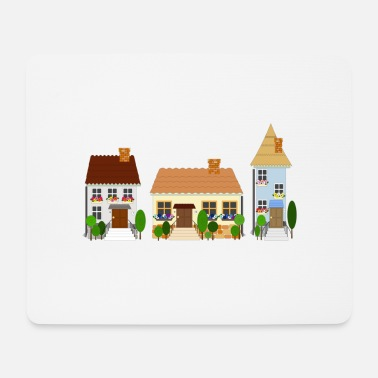 Old Town street of old town - Mouse Pad