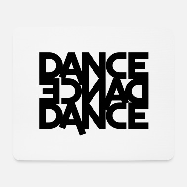 Dancing dance dance dance (backwards) - Mouse Pad