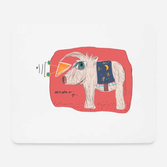 Boho Mouse Pads - boho-tier - Mouse Pad white