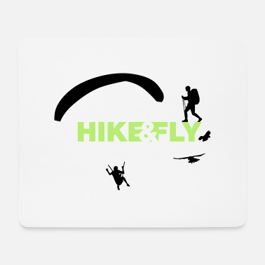 Hike Hike Fly - Mousepad