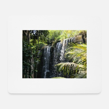 Rainforest Waterfall in the rainforest - Mouse Pad