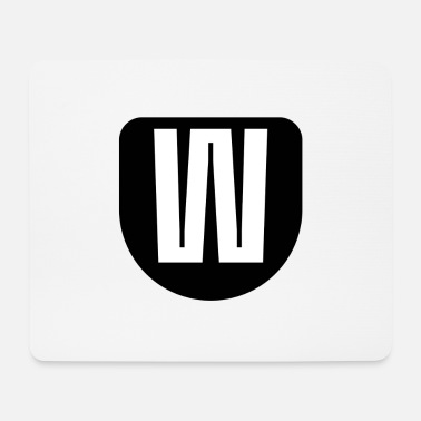 The letter W - Mouse Pad