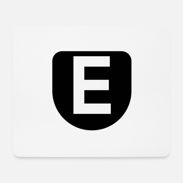 The letter E - Mouse Pad
