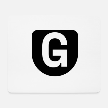 The letter G - Mouse Pad