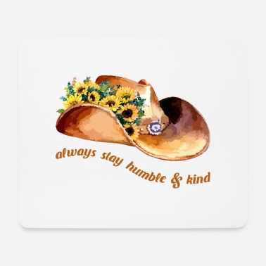 America Always Stay Humble And Kind - Mouse Pad