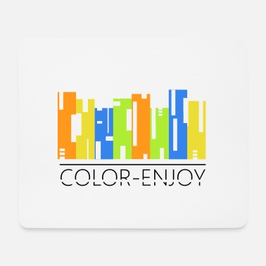 Colorful Color colored - Mouse Pad