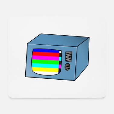 Tv TV TV TV with error - Mouse Pad