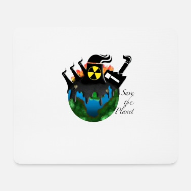 Planets Save the Planet - Climate Change - Mouse Pad