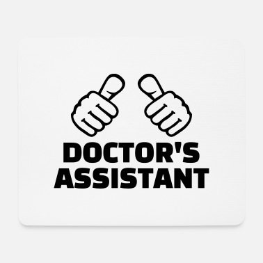 Assistant Doctor's assistant - Mouse Pad