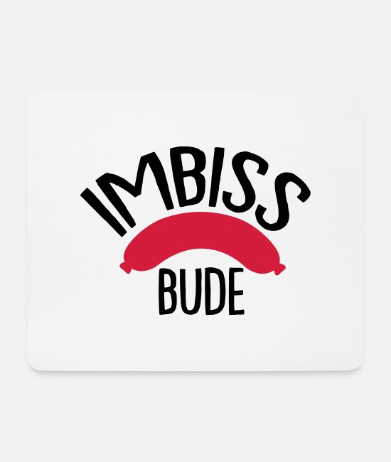 Snack Mouse Pads - snack bude - Mouse Pad white