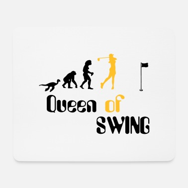 Golf Swing Evolution Queen of Women's Golf Swing - Mouse Pad