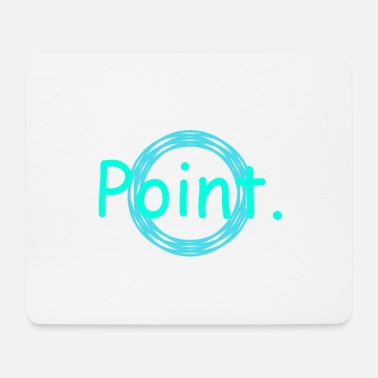Pointing Point. - Mouse Pad