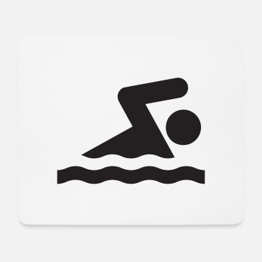 Swimming Swimming - Mouse Pad