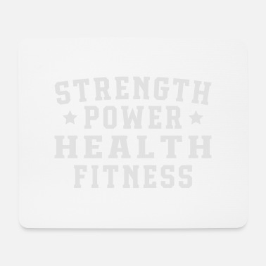 Health Strength power health fitness - Musmatta (liggande format)